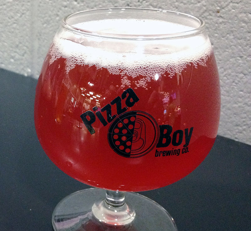 Pizza Boy Brewing Company's Raspberry Sour