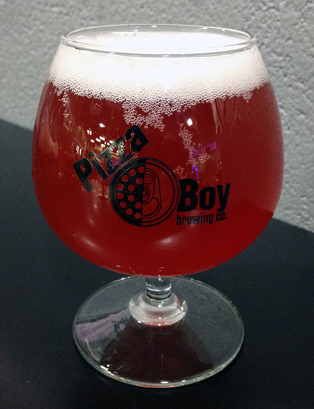 Pizza Boy Raspberry Sour