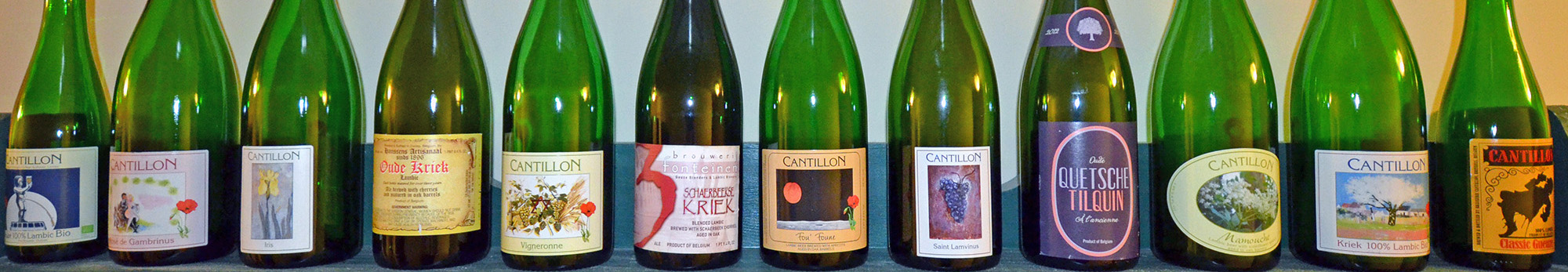 lambic bottles header 2