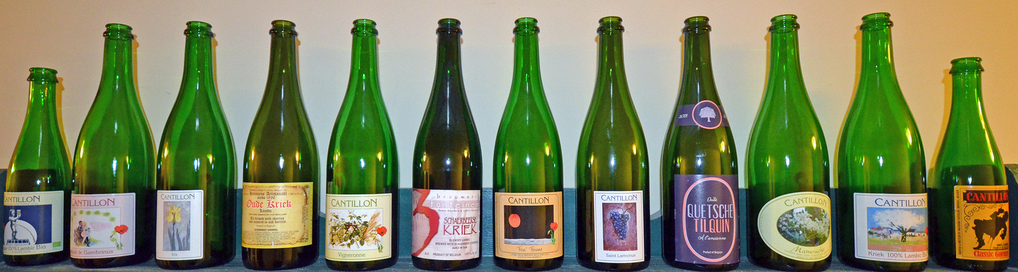 lambic bottles header