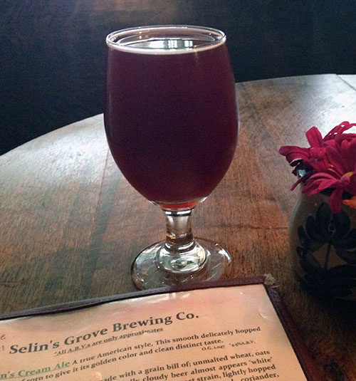 Selinsgrove Brewing Kriek