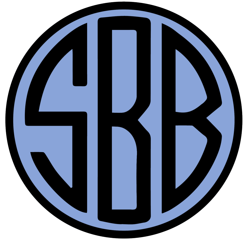 SBB Monogram Blue Solo
