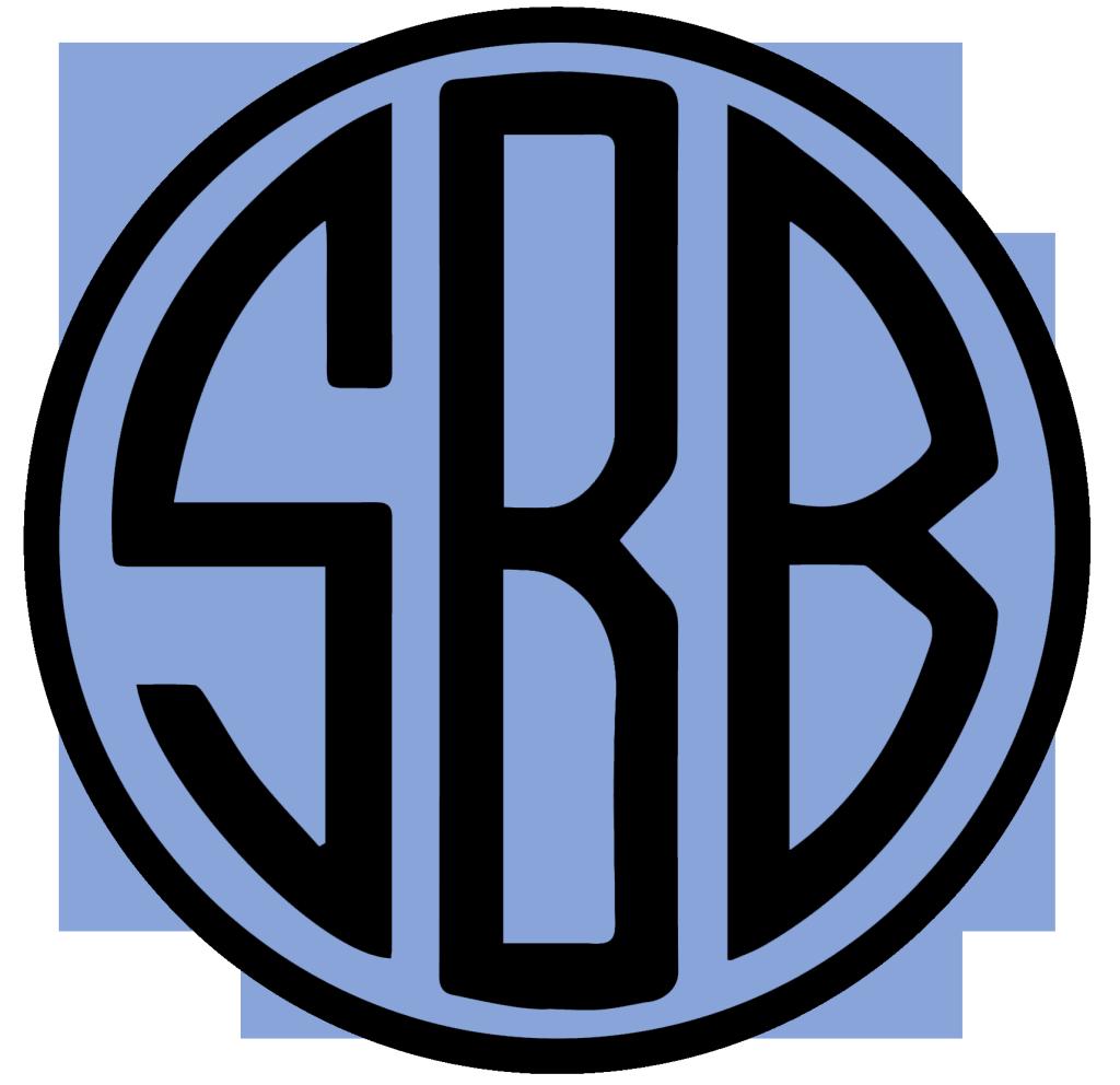 SBB Monogram Blue Solo