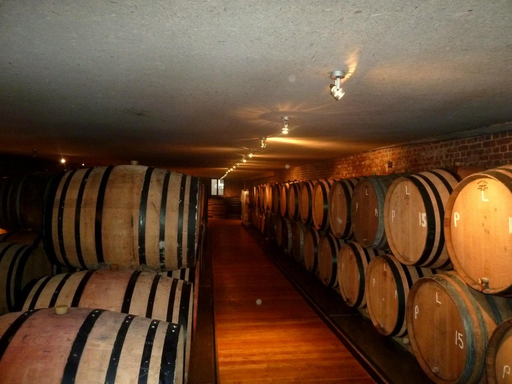 Aging Lambic Barrels at Brasserie Cantillon - Photo by Kevin Desmet @ Belgian Beer Geek