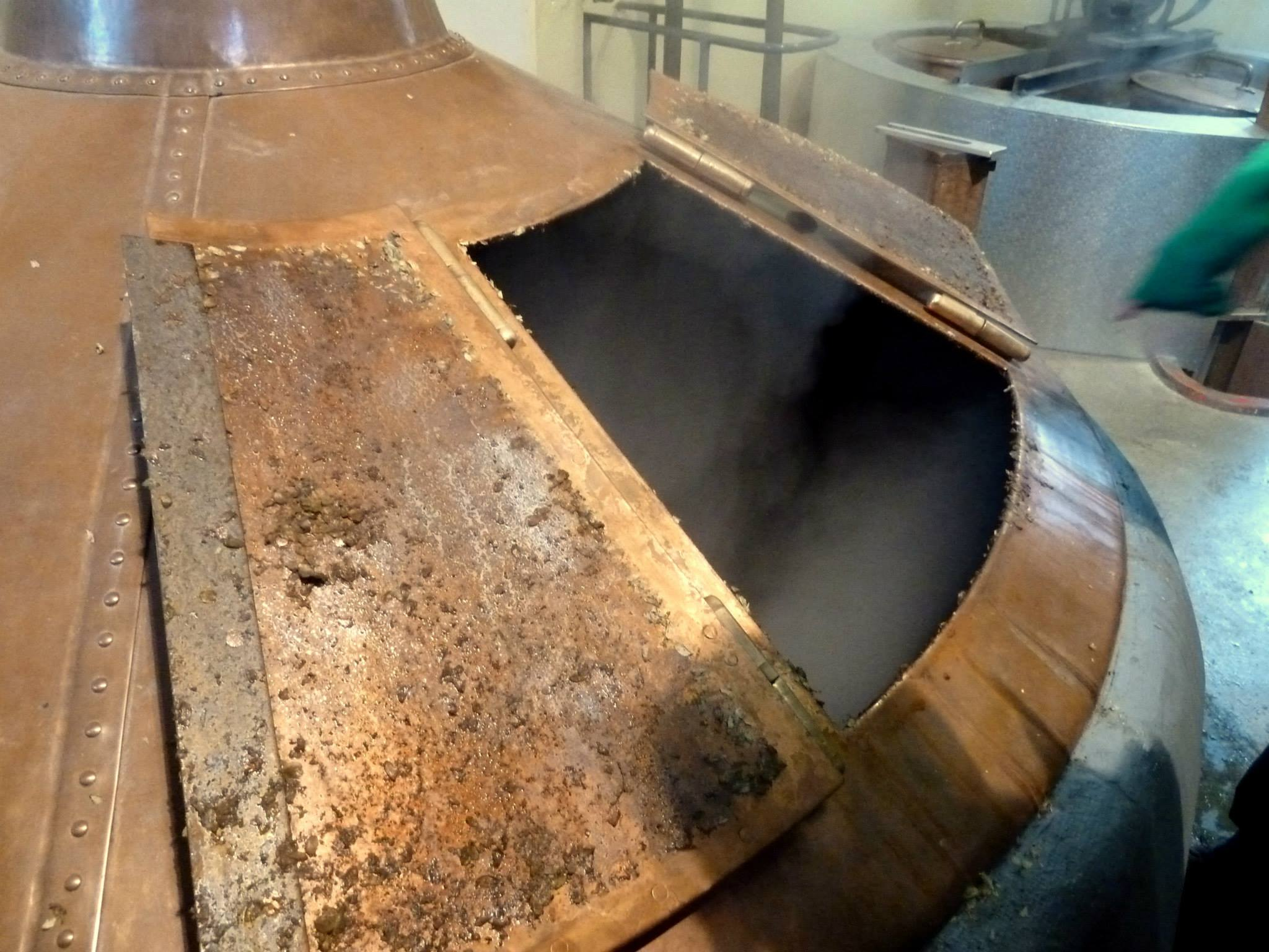 The Boil Kettle at Cantillon - Photo by Kevin Desmet @ Belgian Beer Geek