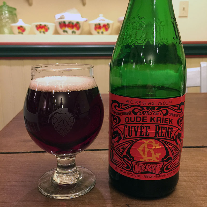 Lindemans Oude Kriek Cuvee Rene Featured