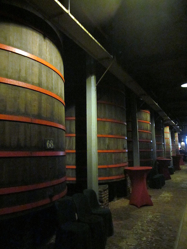 Foudres at Brouwerij Rodenbach