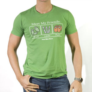 Mens Meet My Friends Tee