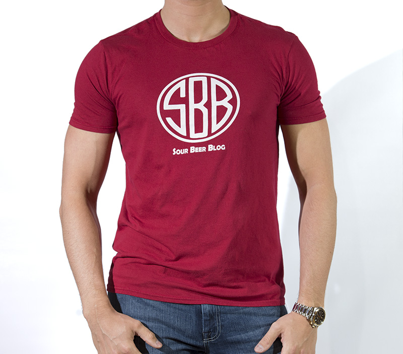 Sour Beer Blog Logo Tee Mens