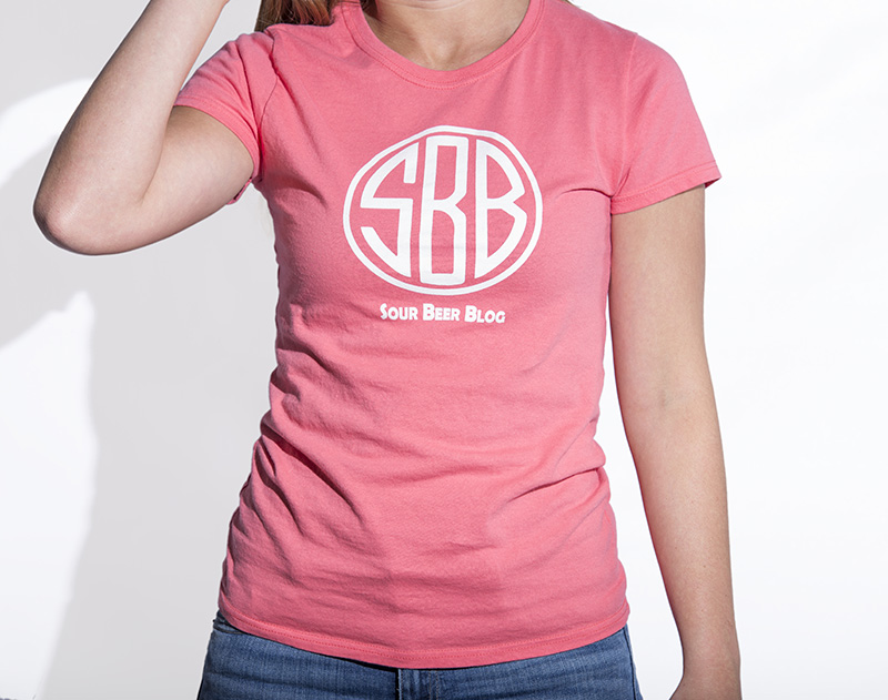 Sour Beer Blog Logo Tee Womens