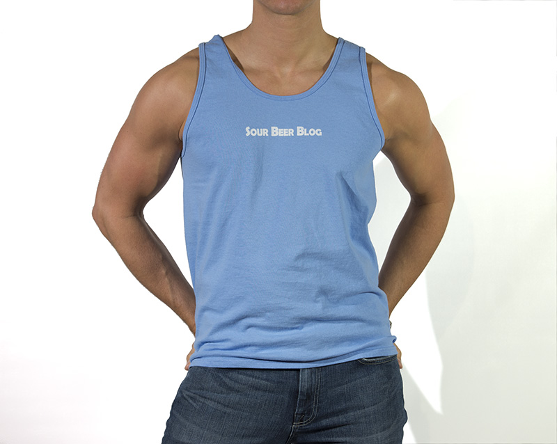Sour Beer Blog Mens Tank Front