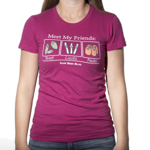 Womens Meet My Friends Tee