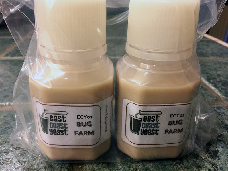 """Bug Farm"" by East Coast Yeast is an example of a complete mixed culture that can be used to produce excellent sour beer."