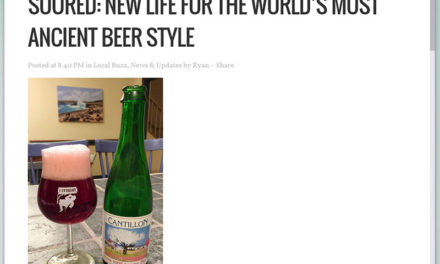 Soured: New Life For The World's Most Ancient Beer Style
