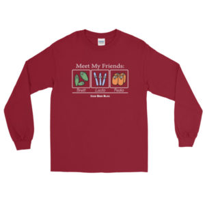 Meet My Friends – Long Sleeve T-Shirt