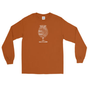 Sour Beer Adjectives – Long Sleeve Tee