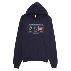 Meet My Friends: California Fleece Hoodie