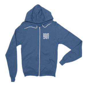 Sour Beer Life – Fleece Lined Zip Hoodie