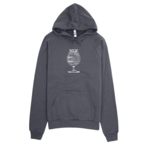 Sour Beer Adjectives – California Fleece Hoodie